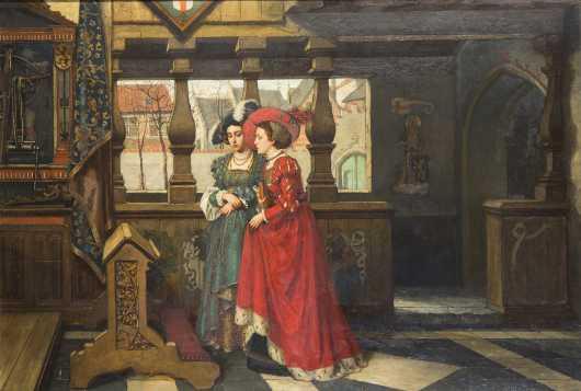 Juliaan De Vriendt, Belgian (1842-1935)