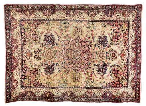 Lavar Kerman Scatter Size Oriental Rug