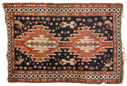 Karabough Scatter Size Oriental Rug