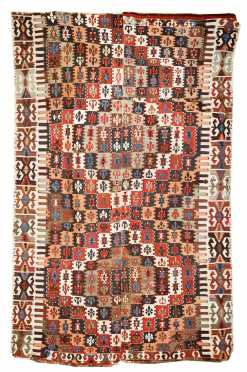 Turkish Kilim Small Room Size Rug