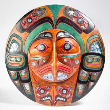 Northwest Coast Sun Plaque