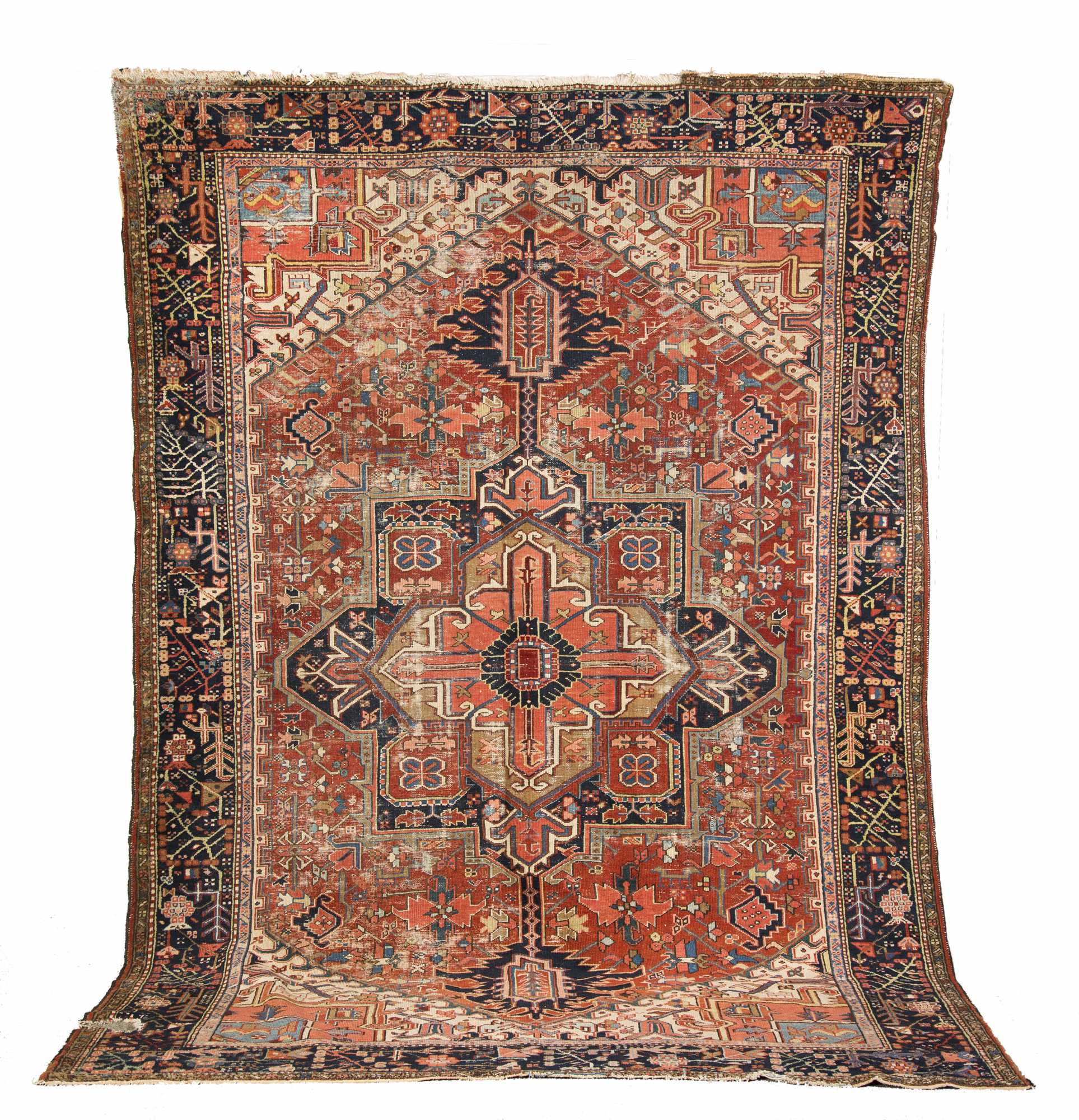 Heriz room size oriental rug for Room size rugs
