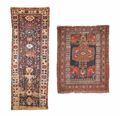 Two Antique Oriental Rugs