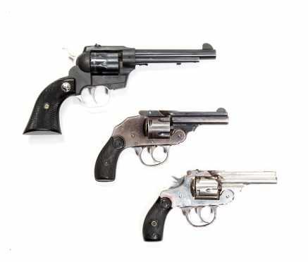 Pistol Lot of Three Revolvers