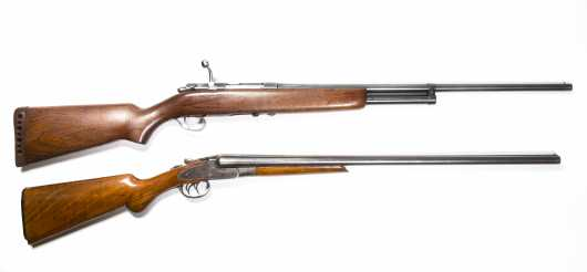 Lot of Two Shotguns