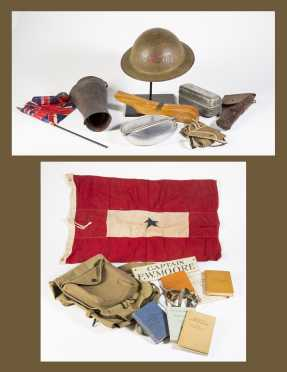 WW1 Clothing and Misc. Lot