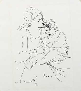Pablo Picasso, Spanish (1881-1973)- AVAILABLE FOR $100