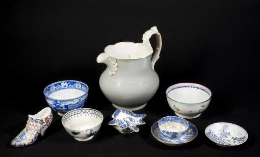 Nine Pieces of China