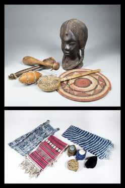 A Group of Nigerian Ethnographic Objects