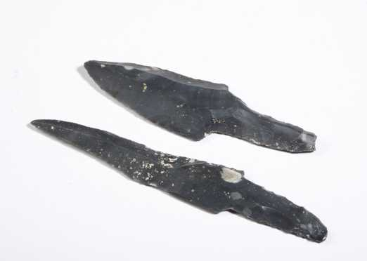 Two South American Spear Points