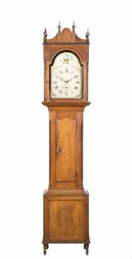Cherry Pennsylvania Tall Case Clock