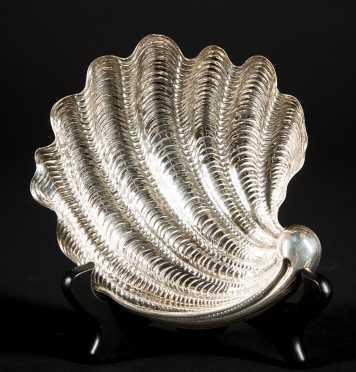 """Buccellati"" Sterling Silver Arca Shell Dish"