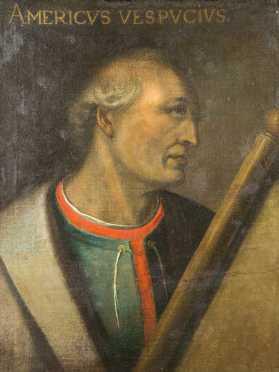 """""""Americus Vespucius"""" Portrait"""