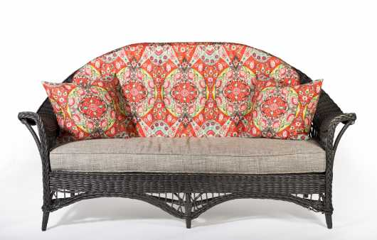 Paine Furniture Co. Wicker Sofa
