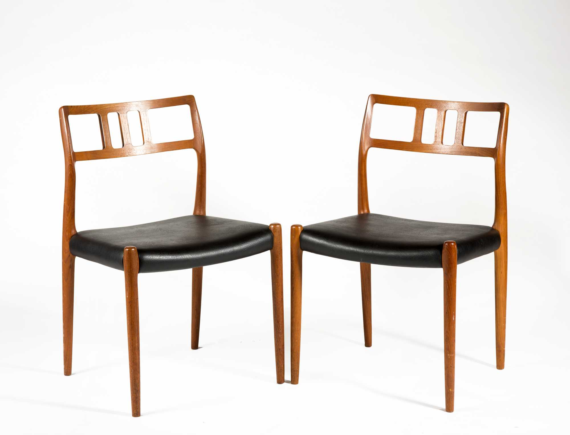 Two Niels Otto Moller Model 79 Chairs