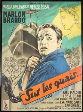 On the Waterfront, 1954 Original Large French Poster