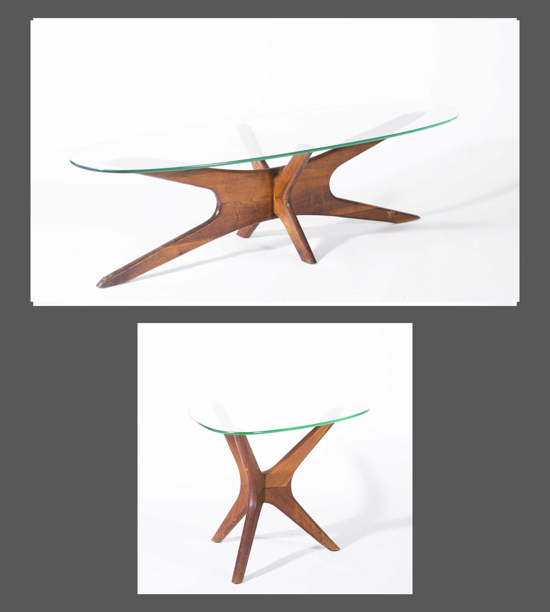 Adrian Pearsall Jacks Coffee And Side Table
