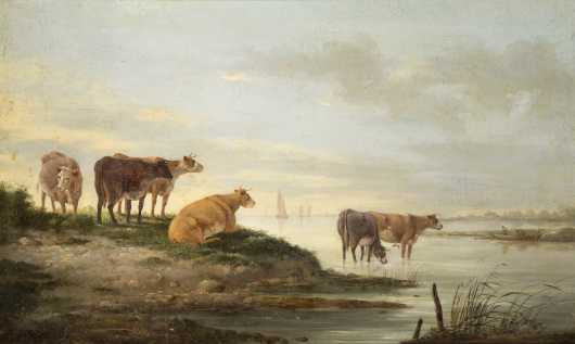 Jacob Van Strij, Holland (1756-1815) *AVAILABLE FOR $1500*