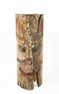 Northwest Coast Totem Panel