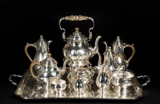 Crichton & Sons Sterling Silver Tea/Coffee Service
