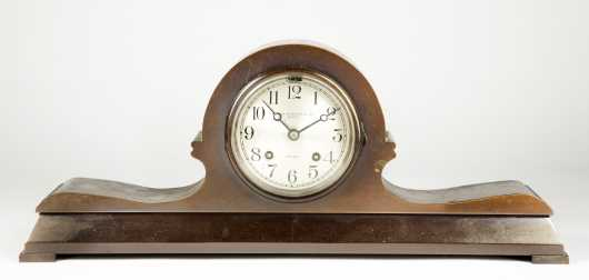 "Bronze ""Chelsea"" Mantel Clock"