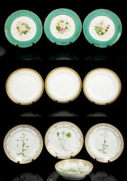 Quality China Lot Including Flora Danica