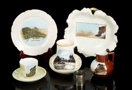 Six White Mountain Commemorative Items