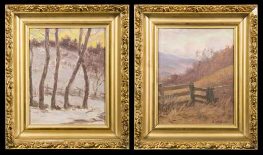 Pair of Daniel Santry Paintings