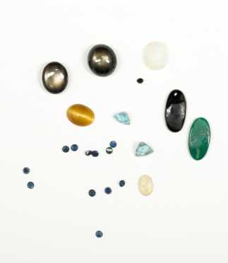 Lot of Loose Mixed Gemstones