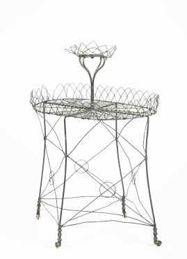 Victorian Wire Planter