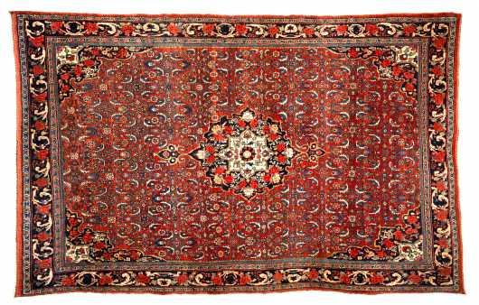 Bijar Large Scatter Size Oriental Rug
