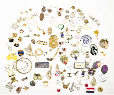 Large Lot Costume Pins, Brooches and More.