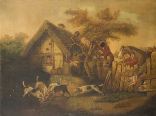 Country English Hunt School Painting