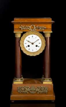 French Pillar Clock
