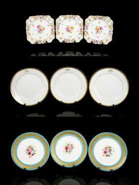 Continental Porcelain Plates