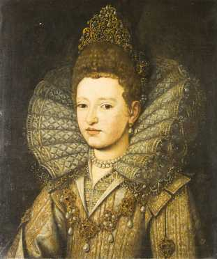 Margherita Gonzaga (1591-1632), Princess of Mantua, School of Frans Pourbus, the Younger (Netherlands, Antwerp (1569-1622 Paris)