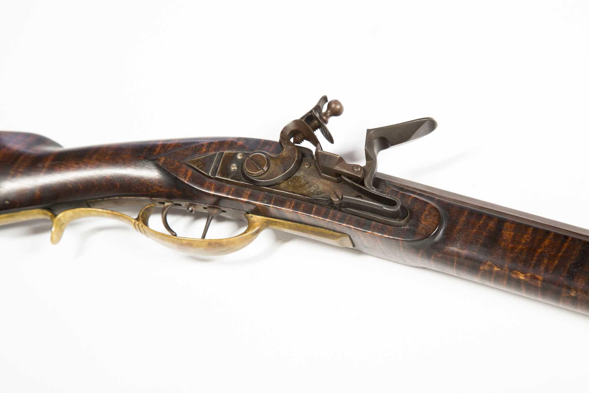 Reproduction Kentucky Flintlock Rifle with 41