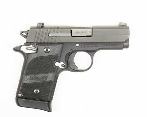 Sig Sauer P938 Blackwood s#52A015507 9mm