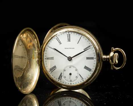 Waltham 14kt. Gold Pocket Watch