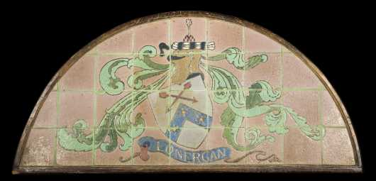 """Grueby Tile Co."" Demilune Tile Frieze"