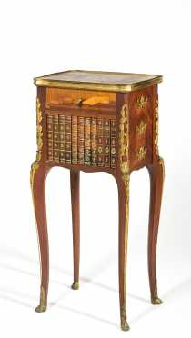 Louis XV Style Inlaid Side table