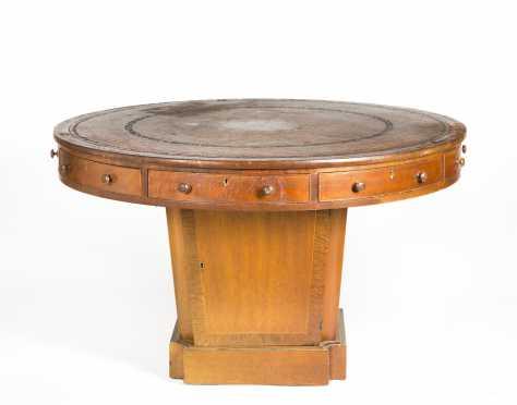 Regency Style Mahogany Rent Table