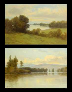 Pair Nikolay Tysland Leganger, NY (1832-1905)