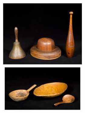 American Woodenware Lot