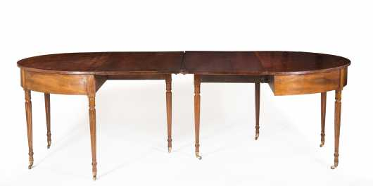 Mahogany Sheraton Two Part Banquet Table