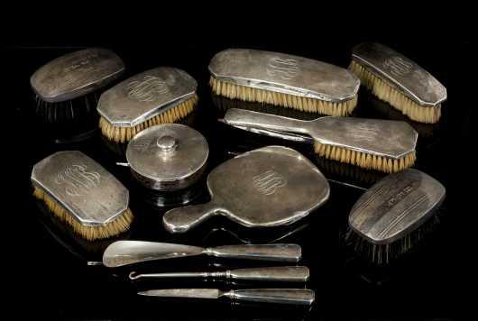 Sterling Silver Dresser Set