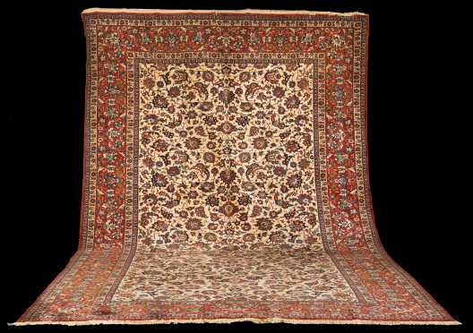 Tabriz Room Size Oriental Rug *AVAILABLE FOR $5,000.00*