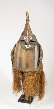 A Middle Sepik Dance Costume