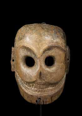 A Himalayan Chitipati mask