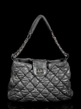 Chanel Bubble Leather Tote